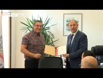 Grad Trebinje dobio sertifikat o uvođenju ISO standarda (VIDEO)