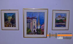 Слике Милене Шотре изложене у депадансу на Ушћу