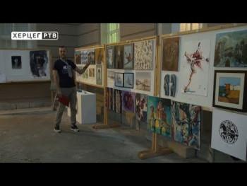 Prihod od prodaje umjetničkih slika Udruženju `Bebe` (VIDEO)