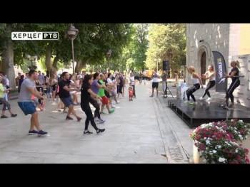 U Trebinju 'Fitnes dan' (VIDEO)
