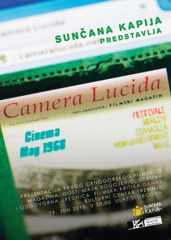 Najava: Prezentacija filmskog magazina 'Camera Lucida'