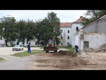 У невесињској бившој касарни почела изградња модерног пословно-стамбеног комплекса (ВИДЕО)