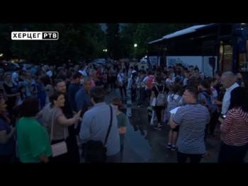 Trebinje domaćin mališanima sa Kosova i Metohije (VIDEO)