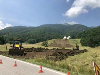 Počela obnova spomen-područja u Dolini heroja