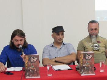 U Kulturnom centru Trebinje održana promocija stripa 'Ponori zla'