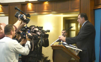 Dodik - glavna meta zbog saradnje sa Putinom