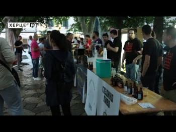 Prvi festival zanatskog piva u Trebinju (VIDEO)
