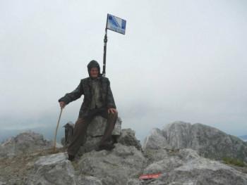 Петко Јањић у 82. години остварио жељу и попео се на Прењ - зов завичаја од свега јачи
