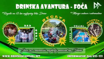Najbolja zabava na vodi: 'Drinska avantura' 28. i 29. jula u Foči
