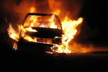 Izgorjelo vozilo u Hrupjelima