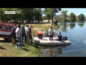 Trebinje: Organizovano polaganje za upravljanje čamcem (VIDEO)