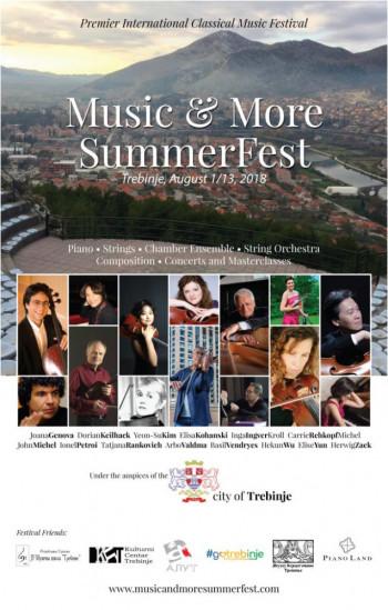 Music & More SummerFest Trebinje 2018
