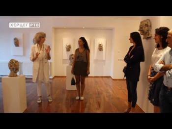 U Nevesinju otvorena izložba 'Maske i portreti' (VIDEO)