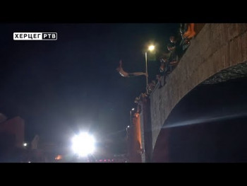 Na skokovima sa Kamenog mosta samo dva učesnika (VIDEO)