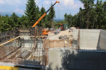 Невесиње: Изградња резервоара на Дебелом брду  у завршној фази