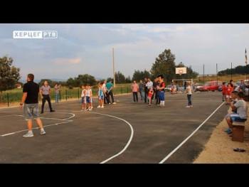 У Батковићима код Невесиња отворено спортско игралиште (ВИДЕО)