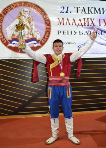 Митар Вишњић из Требиња побједник Фестивала младих гуслара у Невесињу