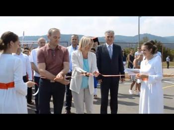 Premijerka Srpske u Nevesinju: U ovu opštinu uloženo više od 60 miliona KM (VIDEO)