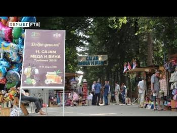 REPORTAŽA: 11. 'Sajam meda i vina Trebinje 2018' (VIDEO)