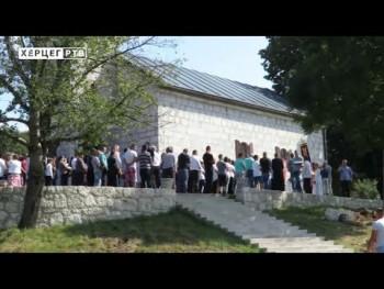 Gospojinski sabor u Biogradu: Upućene poruke ljubavi i sloge (VIDEO)