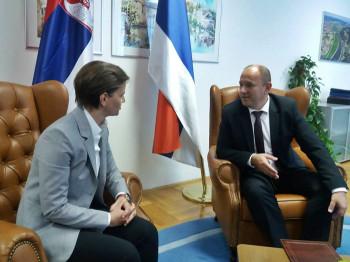 Brnabić: Srbija finansira još dva projekta u Trebinju