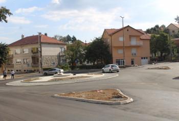 Nevesinje: Završeno asfaltiranje  kružne raskrsnice na Trgu Alekse Šantića
