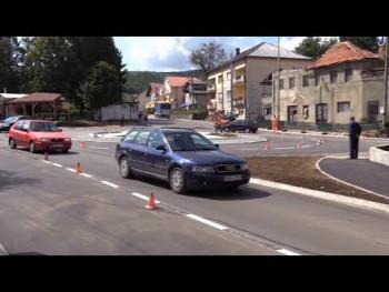 U Nevesinju otvorena kružna raskrsnica vrijedna 180.000 KM (VIDEO)