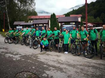 Бициклима до Доњих бара на Зеленгори: 'Gasi wi-fi, pali GPS'