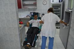 Gatački dobrovoljni davaoci darovali krv u Nevesinju