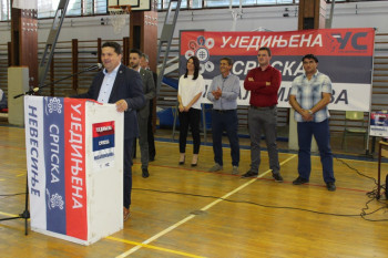 U Nevesinju održana javna tribina Ujedinjene Srpske