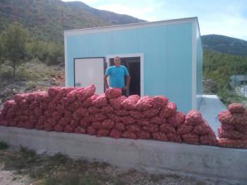 Hladnjača u Strujićima počela sa radom: Preuzete prve količine krompira