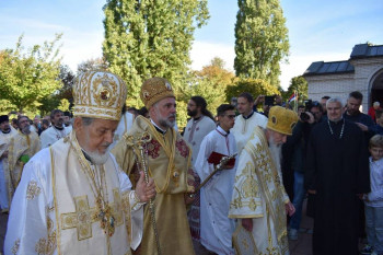 Ustoličenje episkopa Grigorija u Diseldorfu (FOTO)