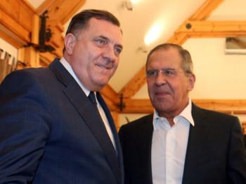 Dodik sutra sa Lavrovom