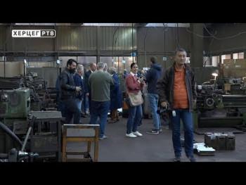 Gradonačelnik Petrović u radnoj posjeti 'Industriji alata' (VIDEO)