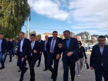 Dodik obećao pomoć Nevesinjcima za uređenje grada