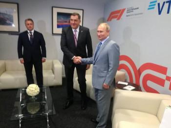 INTERVJU NAKON SASTANKA SA PUTINOM - Dodik: Za Srpsku i srpski narod važno da ima pažnju predsjednika Putina