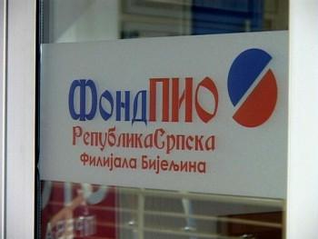 Povećanje penzija u Srpskoj najveće u regionu