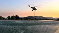 Helikopter Oružanih snaga BiH dejstvuje po požarištima