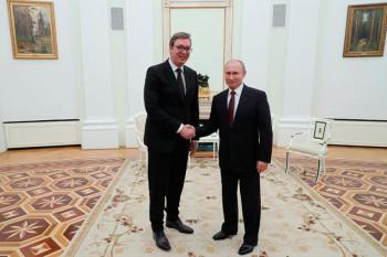 Путин у Београду  19. децембра