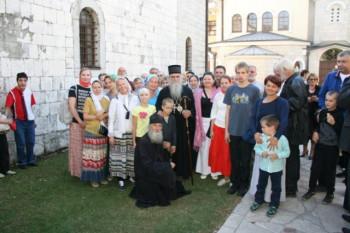 Rusi sa posebnim potrebama bili gosti hrama Svih Svetih na V. Pijesku
