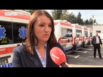 Donacija Vlade Republike Srbije: Dom zdravlja Ljubinje dobio sanitetsko vozilo (VIDEO)