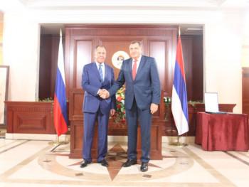 Lavrov čestitao Dodiku i Cvijanovićevoj