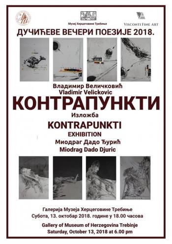 U Muzeju Hercegovine u subotu izložba 'Kontrapunkti'