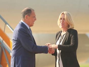 Lavrov čestitao Cvijanovićevoj izbor na dužnost predsjednika Republike