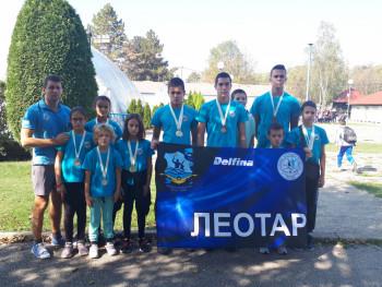 Plivačima Leotara petnaest medalja na kupu 'Vojvoda Živojin Mišić' u Valjevu