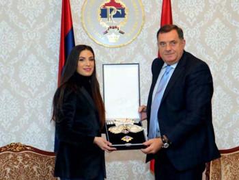Dodik odlikovao Ivanu Španović