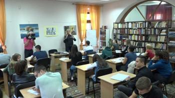 Narodna biblioteka Trebinje: Organizovani časovi o Dučiću za gimnazijalce