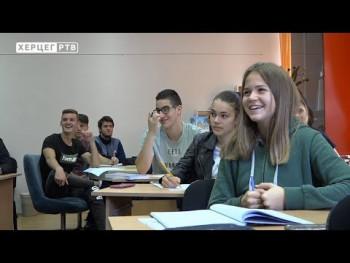 Narodna biblioteka Trebinje: Organizovani časovi o Dučiću za gimnazijalce (VIDEO)