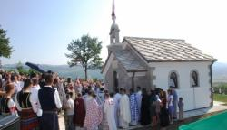 Osvećenje Hrama Svetog Petra Cetinjskog u Medanićima