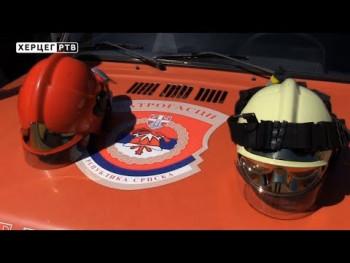 Добровољно ватрогасно друштво Моско-Јасен већ превентивно дјелује (ВИДЕО)